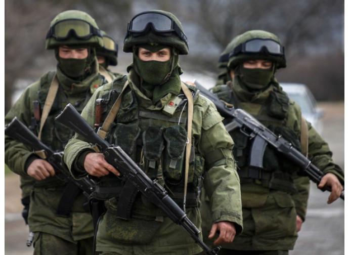 "Gli ""omini verdi"" russi in Crimea"