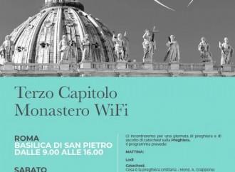Monaci WiFi a San Pietro. «Uniti, nell'ascolto di Dio»