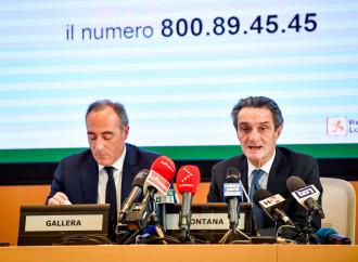 Emergenza Covid: il governo ha abbandonato la Lombardia