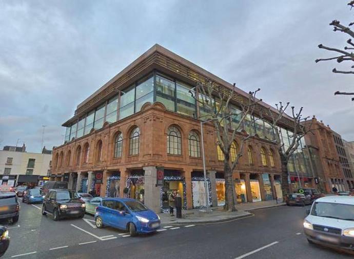 L'immobile di 60, Sloane Avenue a Londra