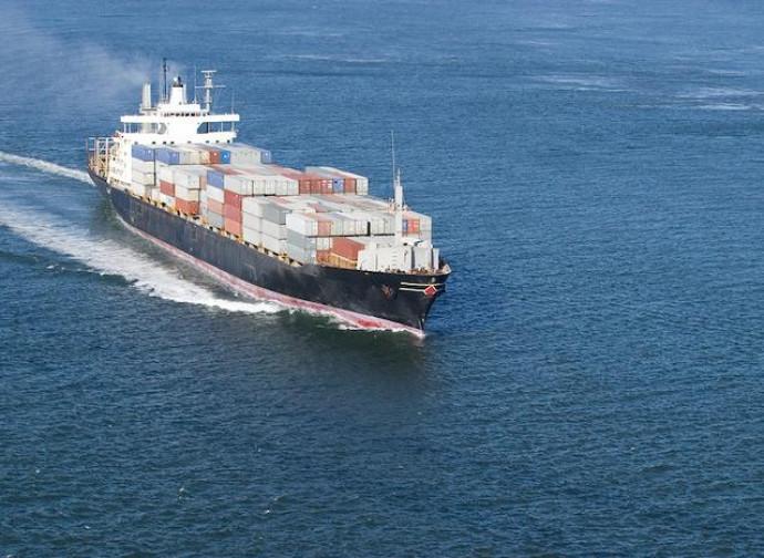 Lori, la nave mercantile colpita