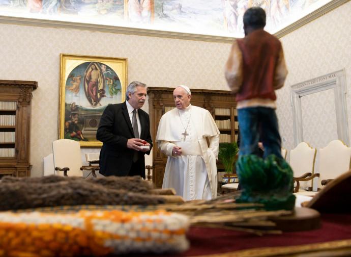 Fernandez e Bergoglio