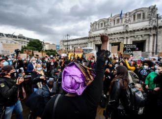 In piazza per l'antirazzismo, ma non per il Corpus Domini
