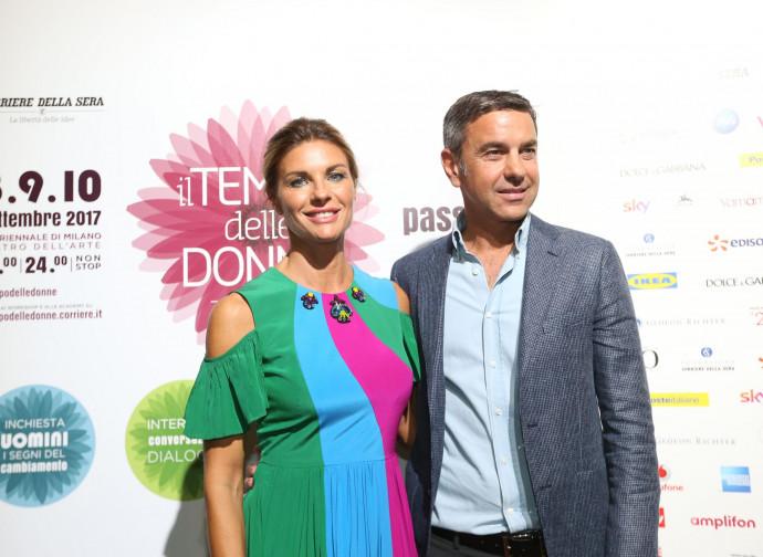 Costacurta con la moglie Martina Colombari