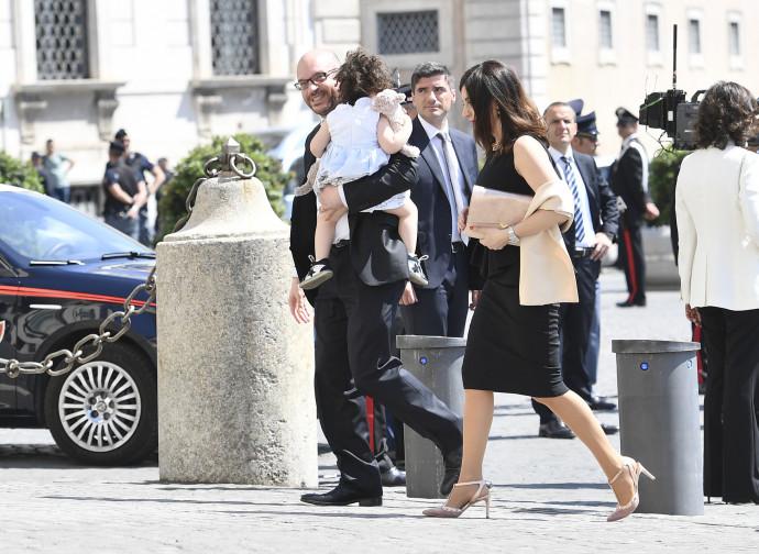 Lorenzo Fontana entra al Quirinale per giurare da ministro della Famiglia