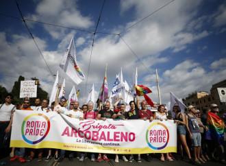Brigata Arcobaleno: ieri il fascista, oggi l'omofobo
