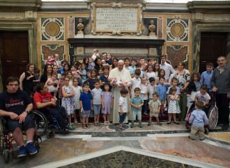Il Papa incontra il Forumfamiglie