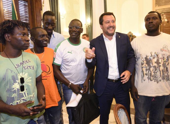 Salvini a Foggia dopo la strage di braccianti