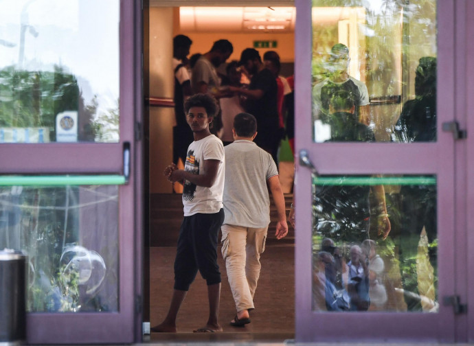 I migranti ospitati a Rocca di Papa