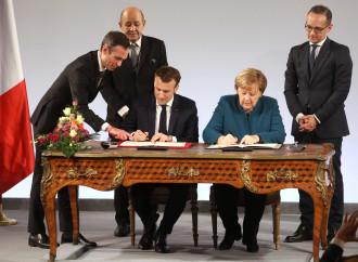 Ad Aquisgrana nasce l'Europa franco-tedesca