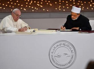 Abu Dhabi, un anno fa. L'equivoco sulle religioni resta