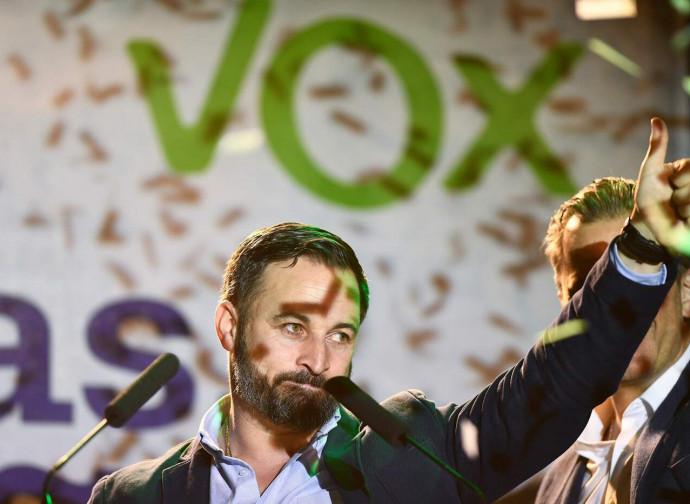 Santiago Abascal, leader di Vox