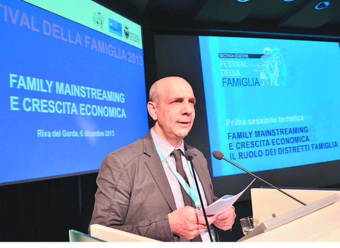 Luciano Malfer dell'Agenzia per la Famiglia