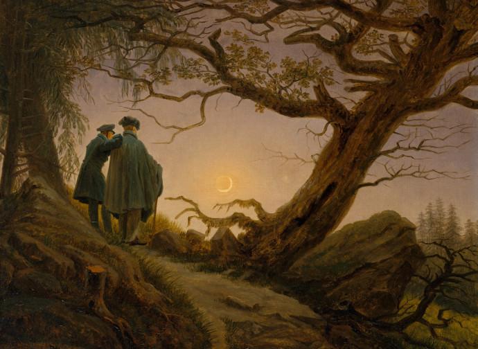 Friedrich, Alla Luna
