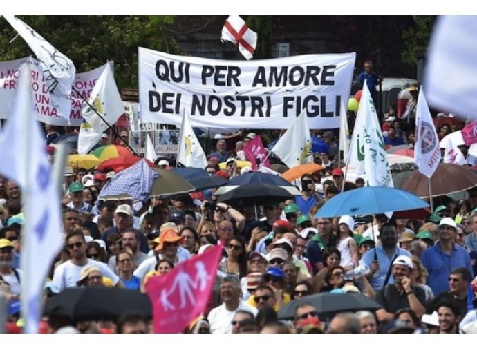 La manifestazione del 20 giugno a Roma a difesa della famiglia