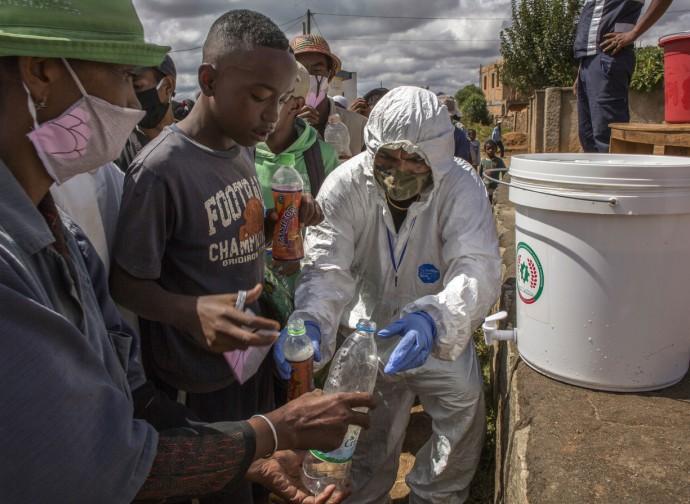 Madagascar, distribuzione del Covid Organics