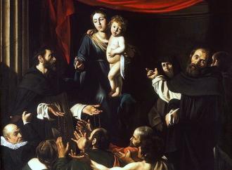 La Madonna del Rosario secondo il genio di Caravaggio