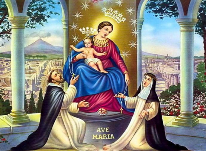 La Madonna del Rosario di Pompei
