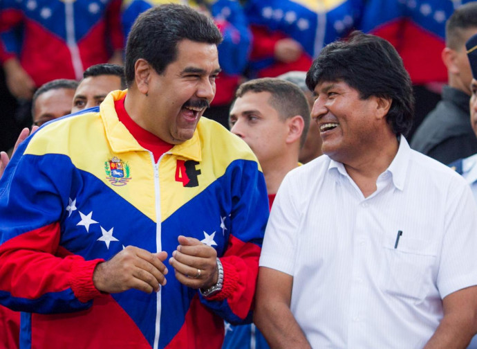 Maduro e Morales
