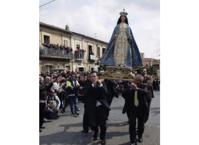 Processione in Calabria