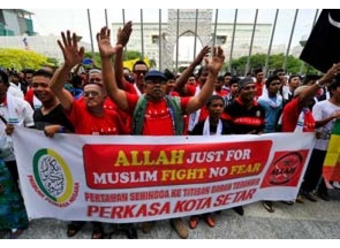 Malaysia, manifestazione di fondamentalisti