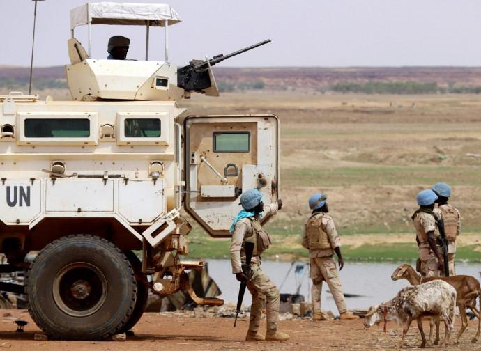 Forze Onu in Mali