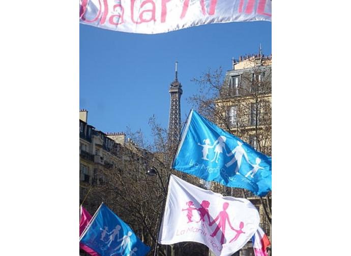 Manif pour Tous a Parigi