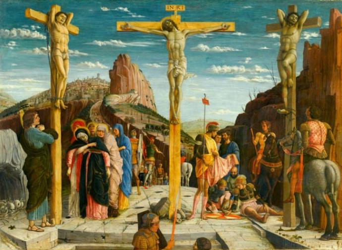 """""""Crocefissione"""" di Antonello da Messina"""