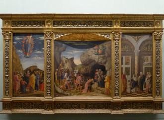 Trittico di Mantegna: Cristo discese e vinse ascendendo