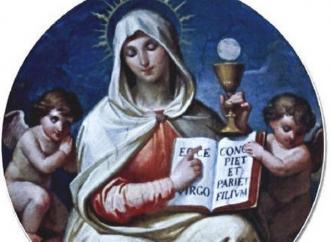Maria, la donna eucaristica che ci chiama a imitarla