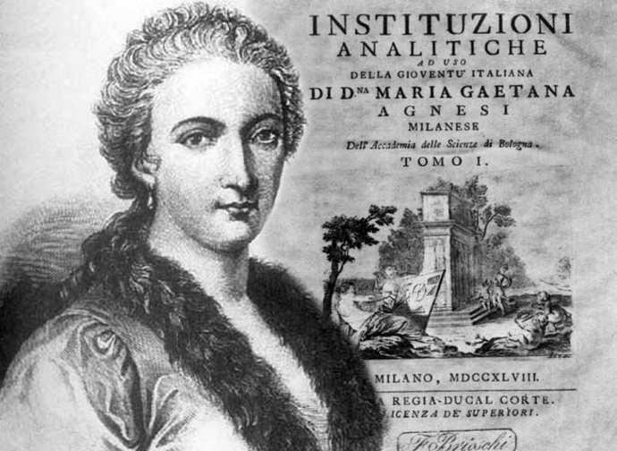 Maria Gaetana Agnesi, la (grande) matematica di Dio - La Nuova ...