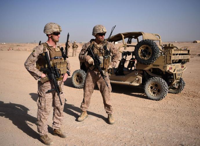 Marine americani in Afghanistan