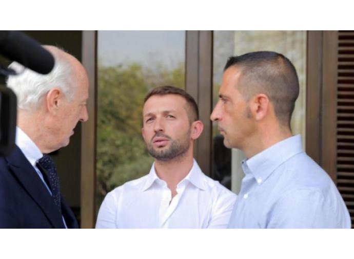 Staffan De Mistura, Latorre e Girone
