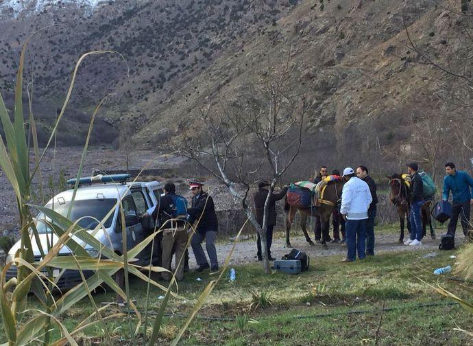 Sul luogo dove sono stati trovati i cadaveri delle due ragazze
