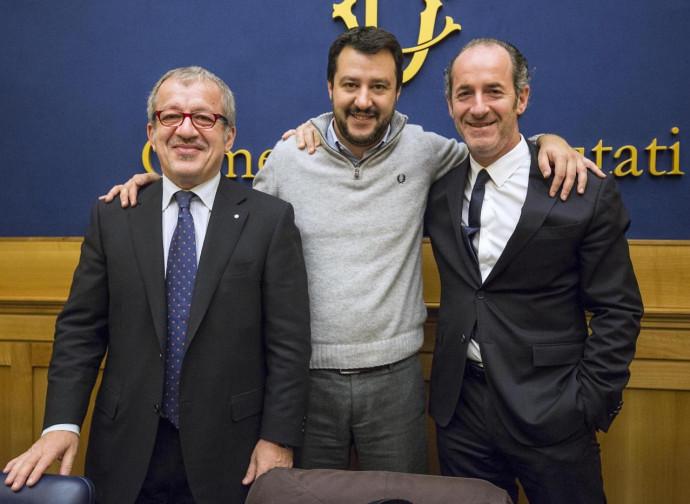 Maroni, Salvini e Zaia