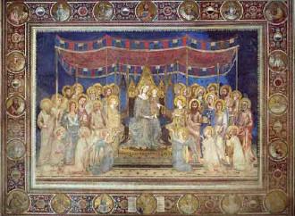 Lo spettacolo della Corte Celeste premio dei santi