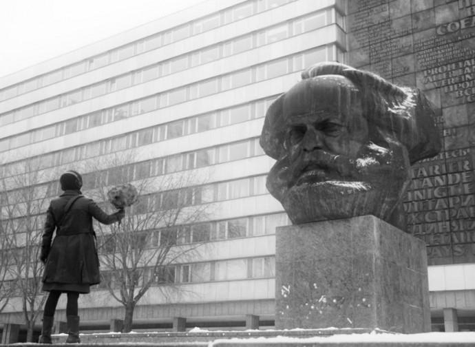Karl Marx, statua