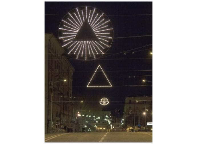 La luminaria massonica di Bologna