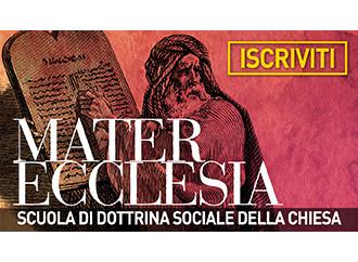 Mater Ecclesia 2018-2019 Prima Sessione