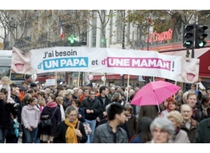 Contestazioni in Francia contro la legge Taubira
