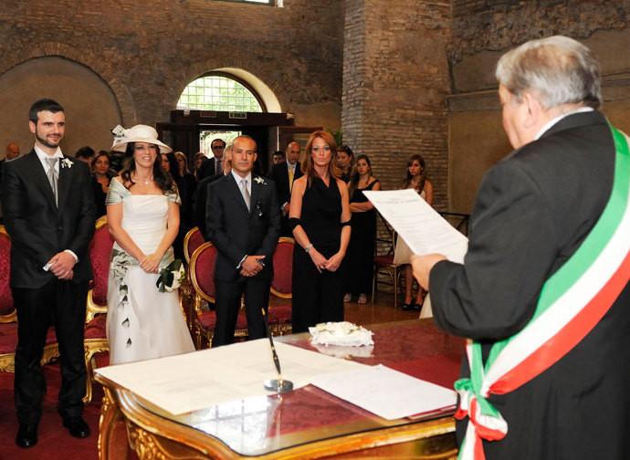 Un matrimonio civile