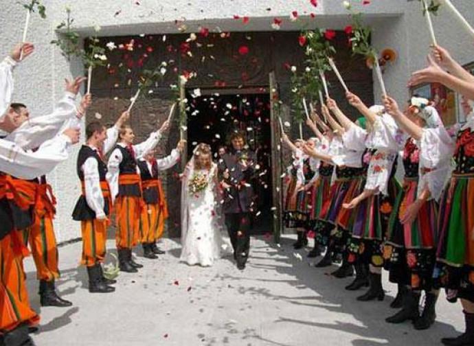Matrimonio tradizionale polacco