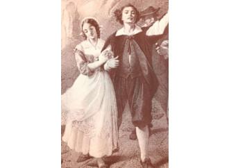 Renzo e Lucia sono finalmente sposi