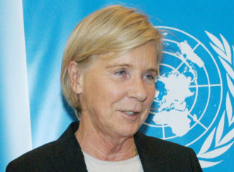 Ecco la rappresentante Onu per la vendita dei bambini