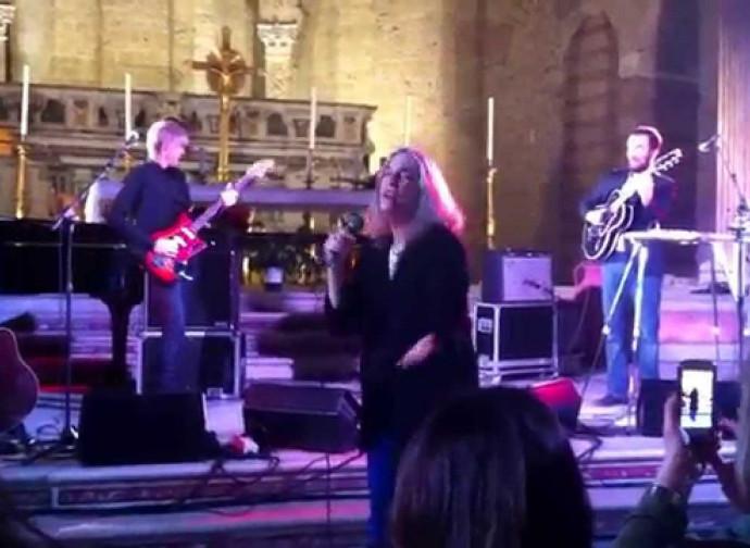 Il concerto di Patti Smith in chiesa (2014)