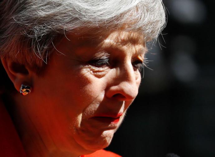 Theresa May annuncia le sue dimissioni