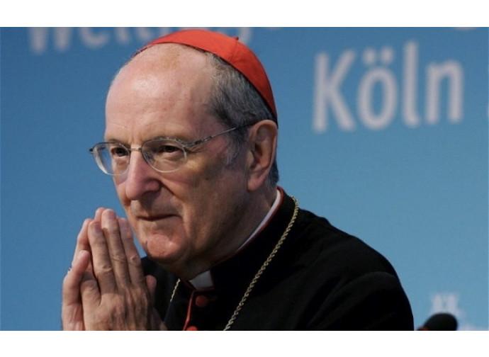 Il cardinale Joachim Meisner, arcivescovo emerito di Colonia