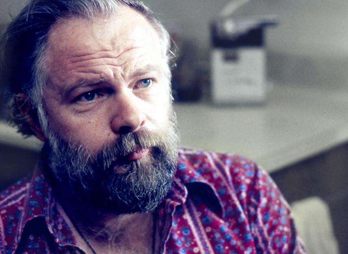 Lo scrittore e sceneggiatore Philip Dick