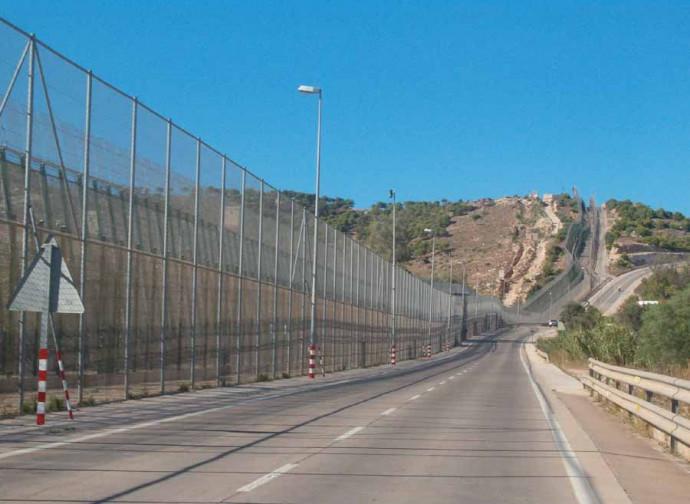 Il confine africano della Spagna a Melilla