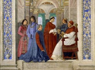 Sisto IV e Platina, incontro storico per la gastronomia